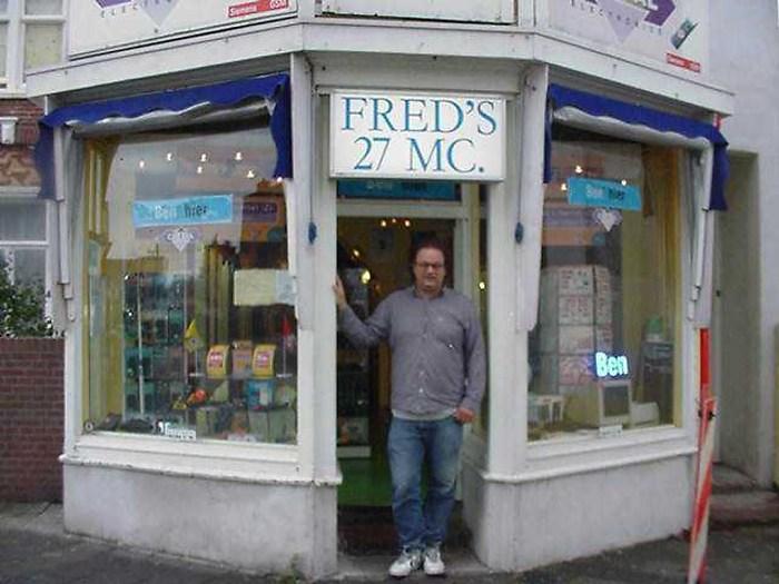 Verdwenen winkels for Fred rotterdam